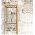 NLXL Piet Hein Eek White Marble Wallpaper - White: Image 1