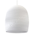 Graypants Bell Pendant - 16 Inch - White: Image 1