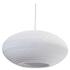 Graypants Disc Pendant - 16 Inch - White: Image 1