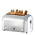 Magimix 11536 4 Slice Brushed Toaster - Stainless Steel: Image 2