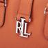 Lauren Ralph Lauren Women's Bethany Shopper Bag - Monarch Orange: Image 4