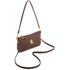 Lauren Ralph Lauren Women's Pam Mini Shoulder Bag - Burnt Brown: Image 3