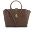 Lauren Ralph Lauren Women's Bethany Shoulder Bag - Burnished Brown: Image 1