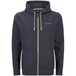 Animal Men's Bedrock Zip Through Hoody - Total Eclipse Navy Marl: Image 1