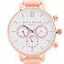 Olivia Burton Women's Chrono Detail Watch - Nude Peach & Rose Gold: Image 2