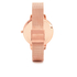Olivia Burton Women's Winter Garden Watch - Rose Gold Mesh: Image 2