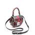 SALAR Women's Mimi Ring Snake Bag - Verde/Rosso: Image 3
