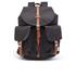 Herschel Supply Co. Men's Dawson Backpack - Black/Tan: Image 1
