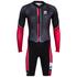 Santini Dirt Shell Aquazero Cyclocross Speedsuit - Black/Red: Image 3