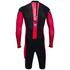 Santini Dirt Shell Aquazero Cyclocross Speedsuit - Black/Red: Image 2