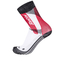 Santini Comp 2 Profile Socks - Red: Image 1