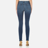 J Brand Women's Maria High Rise Skinny Jeans - Identity: Image 3