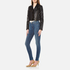 J Brand Women's Maria High Rise Skinny Jeans - Identity: Image 4