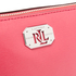 Lauren Ralph Lauren Women's Newbury Cosmetic Wristlet Bag - Rouge: Image 3