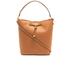 Lauren Ralph Lauren Women's Dryden Debby Drawstring Bag - Field Brown/Monarch Orange: Image 1