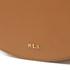 Lauren Ralph Lauren Women's Dryden Caley Mini Saddle Bag - Field Brown/Monarch Orange: Image 4