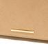 Lauren Ralph Lauren Women's Darlington Delaney Clutch Bag - Gold Leaf: Image 4