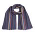 Paul Smith Men's Central Stripe Wool Scarf - Black: Image 1