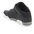 Supra Men's Ellington Strap Mid Top Trainers - Black: Image 4