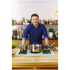 Jamie Oliver by Tefal Stainless Steel Wok & Glass Pan Lid - 28cm: Image 4
