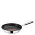 Jamie Oliver by Tefal Stainless Steel 2 Piece Frying Pan Set - 24cm & 28cm: Image 3