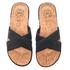 UGG Men's Ithan Cork Double Strap Leather Slide Sandals - Black: Image 2