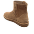 UGG Women's Classic Unlined Perforated Suede Mini Ankle Boots - Tawny: Image 4
