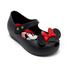 Mini Melissa Toddlers' Minnie Mouse Ultragirl Ballet Flats - Black: Image 3
