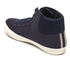 Jack & Jones Men's Dunmore Mid Top Trainers - Navy Blazer: Image 4