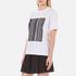 Alexander Wang Women's Bonded Barcode Boxy Crew Neck T-Shirt - Bleach: Image 2