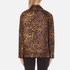 Alexander Wang Women's Classic Coaches Embroidered Patch Detail Jacket - Leopard: Image 3
