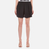 Alexander Wang Women's Tailored Inverted Pleat Shorts - Matrix: Image 1