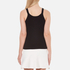 Alexander Wang Women's Ribbed Centre Front Piercing Tank Top - Matrix: Image 3
