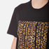 Alexander Wang Women's Bonded Barcode Boxy Crew Neck T-Shirt - Matrix: Image 5