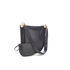 Diane von Furstenberg Women's Moon Leather/Suede Cross Body Bag - Black: Image 3