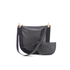 Diane von Furstenberg Women's Moon Leather/Suede Cross Body Bag - Black: Image 1