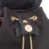 Diane von Furstenberg Women's Satin Backpack - Black: Image 4