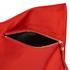 Diane von Furstenberg Women's Satin Asymmetric Foldover Clutch Bag - Rust: Image 5