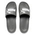 Puma Men's Popcat Slide Sandals - Grey/White: Image 1