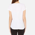 UGG Women's Betty Brushed Jersey Knit Short Sleeve T-Shirt - White: Image 3