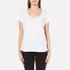 UGG Women's Betty Brushed Jersey Knit Short Sleeve T-Shirt - White: Image 1