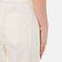 T by Alexander Wang Women's Stretch Cotton High Waisted Culottes - Eggshell: Image 6