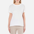 T by Alexander Wang Women's Superfine Jersey Short Sleeve Crew Neck T-Shirt - White: Image 1