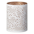 Parlane Zia Metal Candle Holder - White (12cm x 15.5cm): Image 1