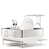 simplehuman Compact Brushed Steel Dish Rack: Image 1