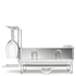 simplehuman Compact Brushed Steel Dish Rack: Image 2