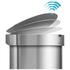 simplehuman Semi-Round Brushed Steel Sensor Bin 45L: Image 6