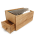 Sagaform Oval Oak Cheese Grater: Image 2