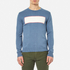 Garbstore Men's Stonewall Crew Knitted Jumper - Blue: Image 1