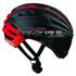 Casco Speedairo RS Helmet with Vautron Visor - Black/Red: Image 1